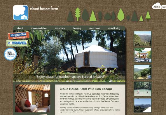 Cloud House Website