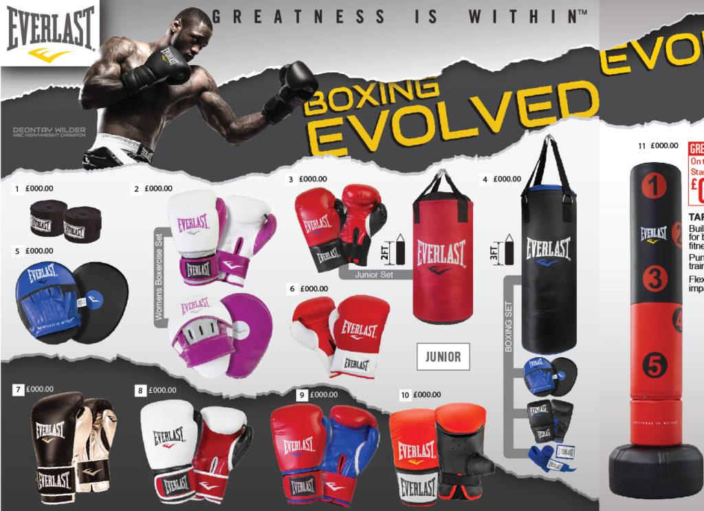 Everlast Boxing Equipment